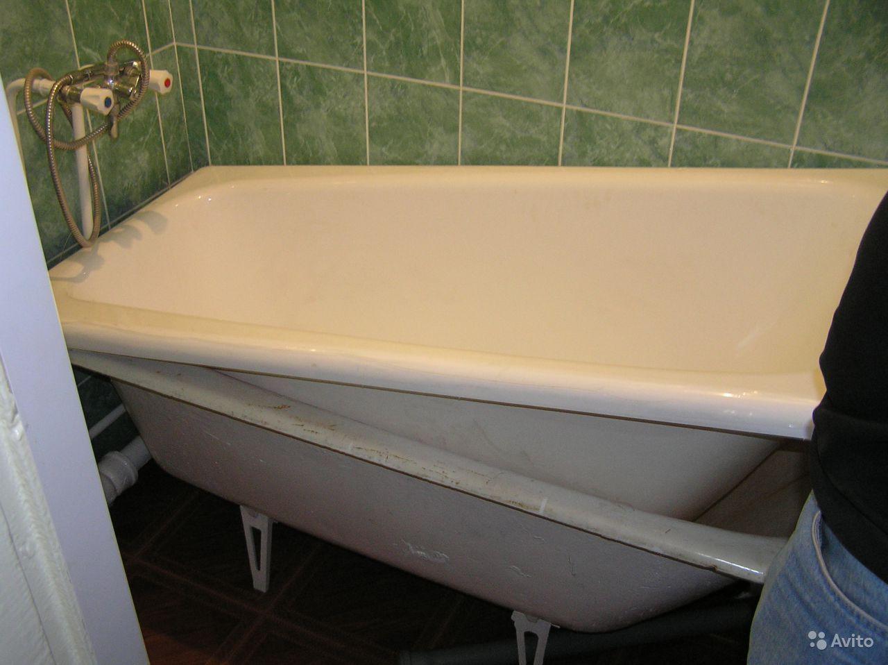 Сколько стоит реставрация акриловой ванны